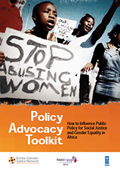 Click to download the Policy Advocacy Toolkit (PDF)
