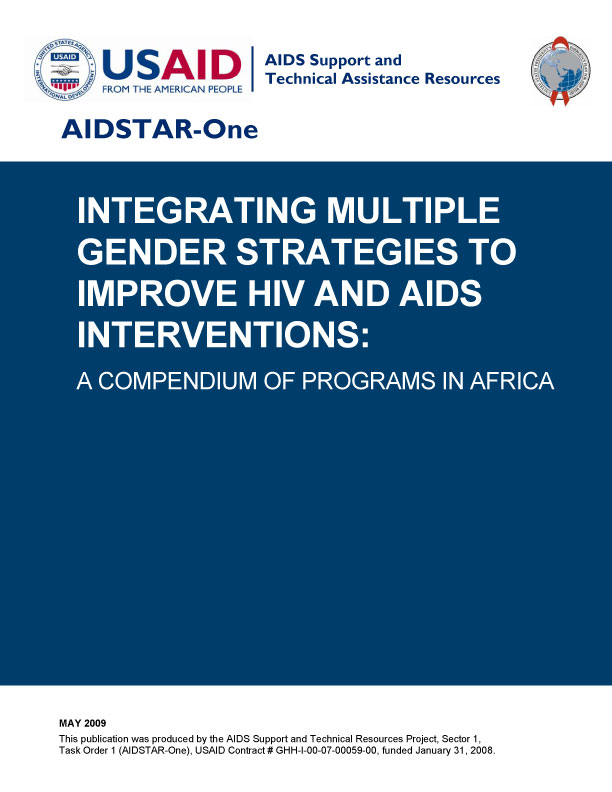 Integrating Multiple Gender Strategies To Improve HIV and Aids Interventions