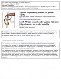 South Africa's Sonke Gender Justice Network