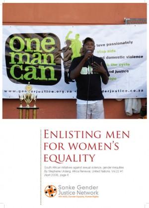 Enlisting Men for Women's Equality