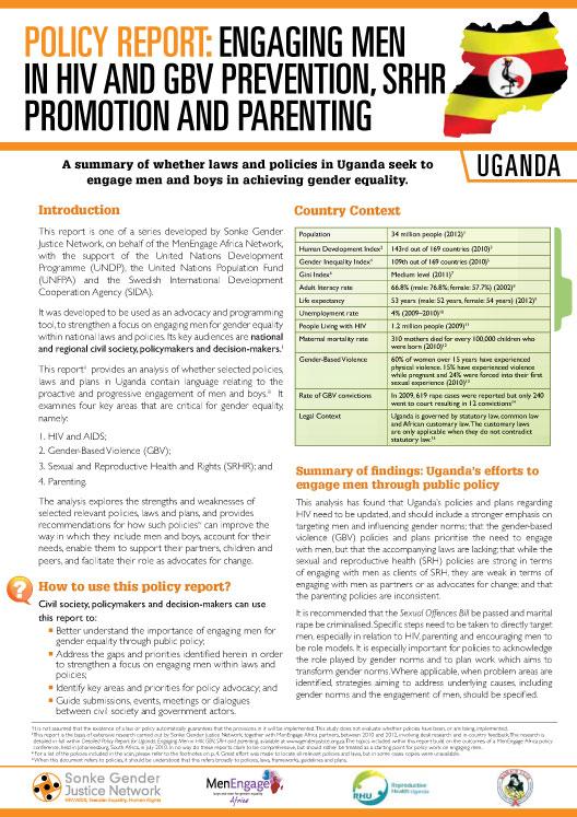 81382f494f1 Policy Report  Uganda – Sonke Gender Justice