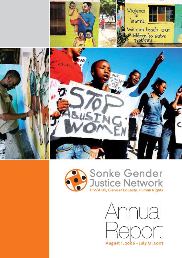 Sonke Annual Report 2006/2007