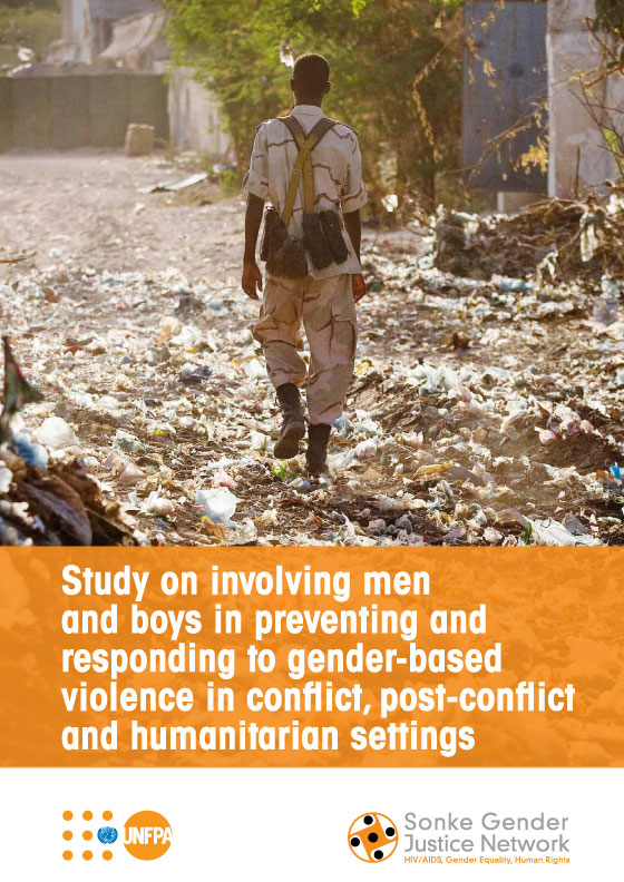 Study on involving men and boys in preventing and responding to gender-based violence in conflict, post-conflict and humanitarian settings