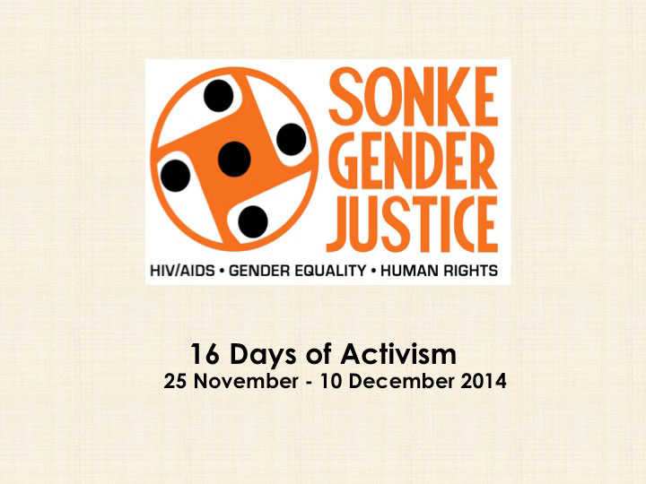 16 Days of Activism for No Violence Against Women and Children - Slide1