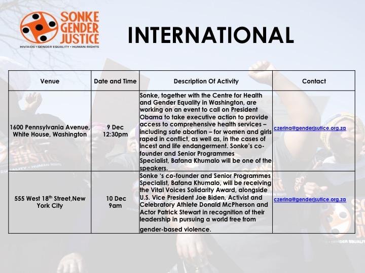 16 Days of Activism for No Violence Against Women and Children - Slide9