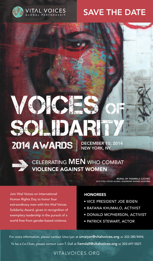 Vital Voices Solidarity Award - Voices of solidarity