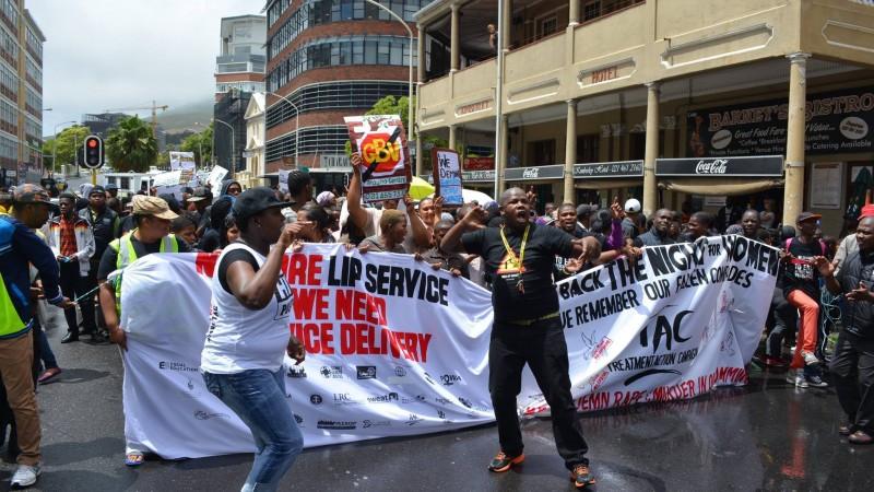 mobilising for NSP on GBV