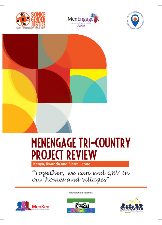 Two new reports from Sonke, MenEngage Africa and UNTF on gender-based violence in Kenya, Rwanda and Sierra Leone
