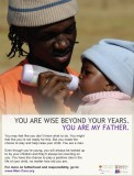 MenCare 'You are my Father' Posters - Young Father