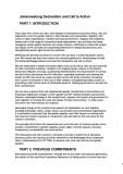 MenEngage Africa Declaration 2009