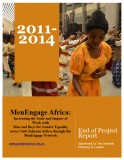 MenEngage Africa End Of Project Report Oct 2014