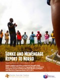 Sonke and MenEngage Report to Norad April 2014