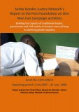 Sonke report on FF funded One Man Can Campaign 2007-2009