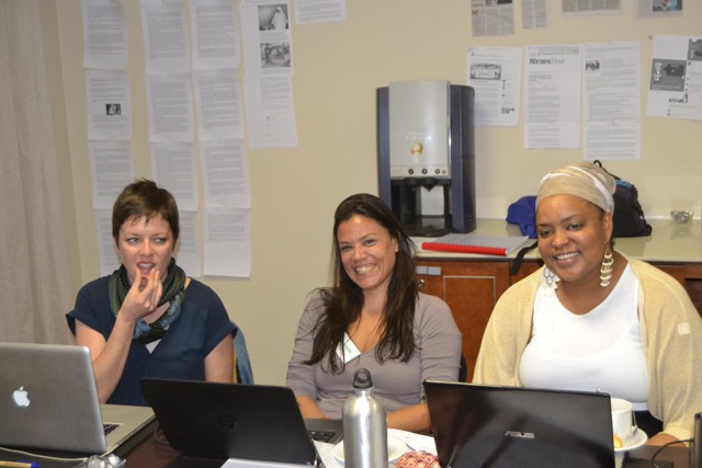 Staff representing the organisers - Sonke Gender Justice and the Institute for Development Studies.