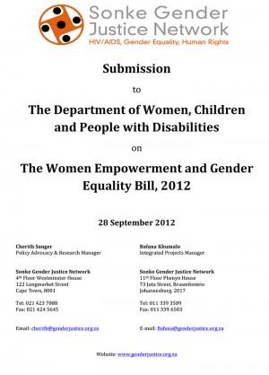 gender justice in india pdf