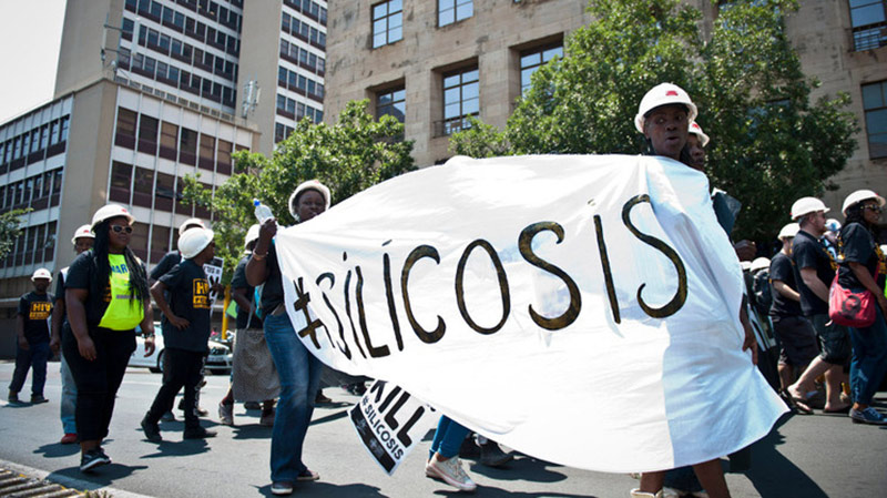 silicosis-protest
