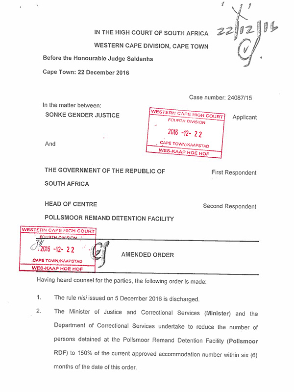 Pollsmoor-Court-Order