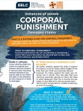 Corporal Punishment Damage Claims