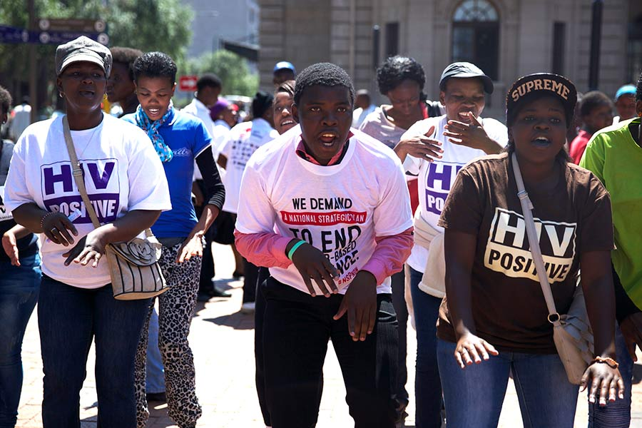Johannesburg, Gauteng. (Photo by Demelza Bus