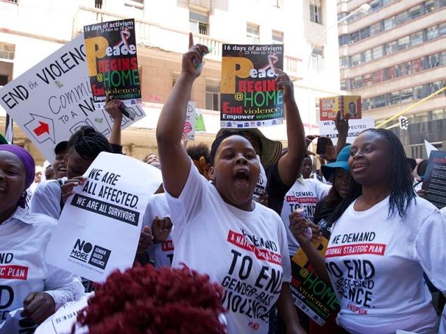 Johannesburg, Gauteng. (Photo by Demelza Bush)
