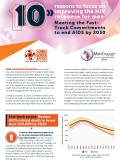 10 Reasons Focus Improving HIV Response Men