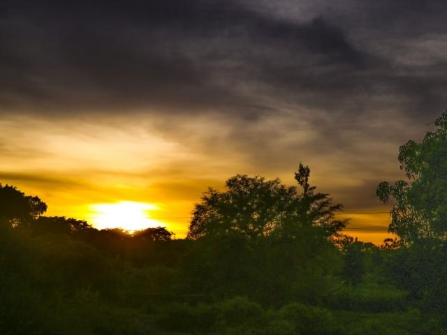 11 Sunset in Tanzania