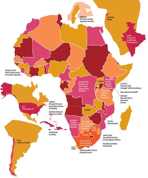 Subgrant Map