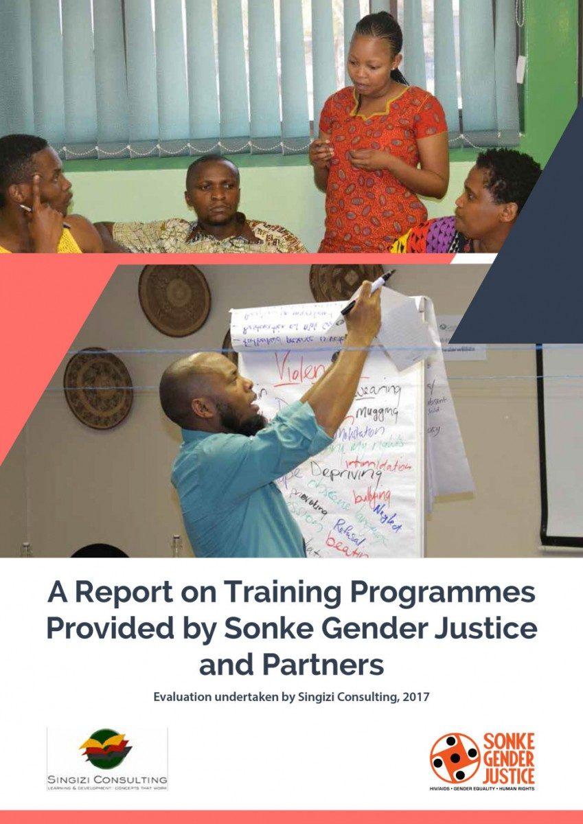 Sonke Training Report Dr