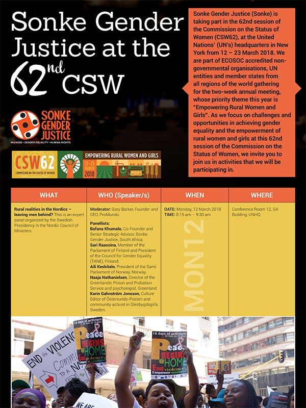 Sonke CSW Flyer