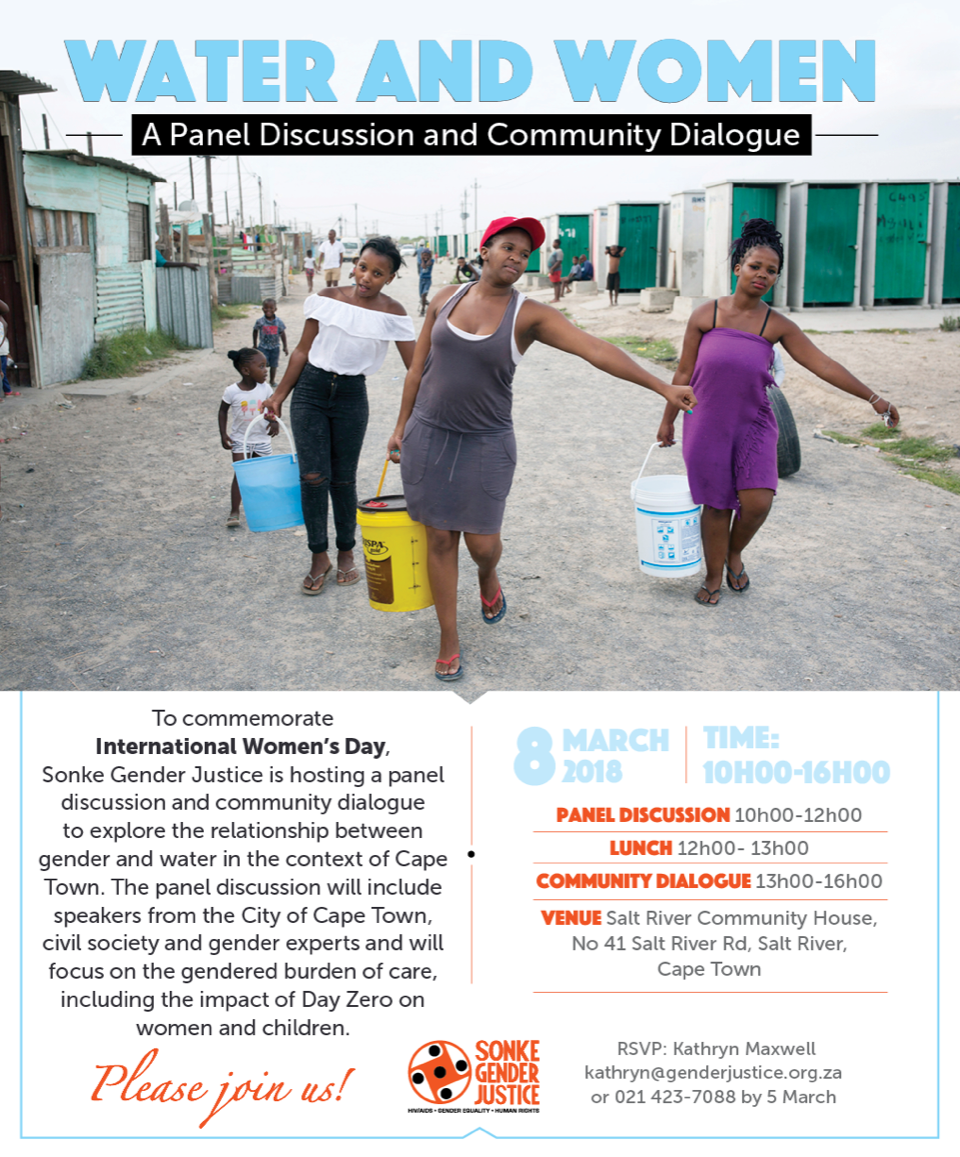 Sonke Water & Women Invite