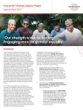 Voices Change Legacy Paper