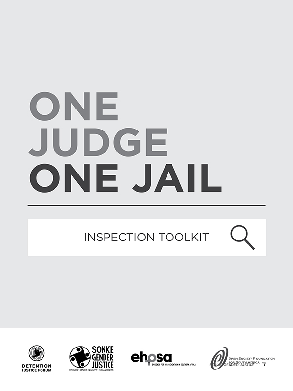 One Judge One Jail Inspection Toolkit