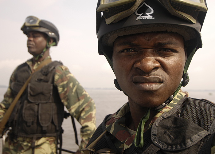 Cameroonian Soldiers