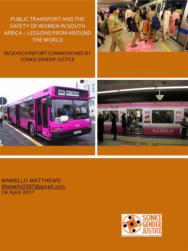 Public Transport Safety Women SA
