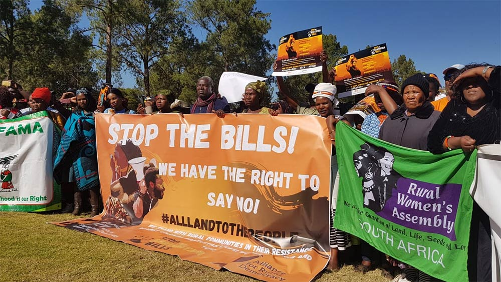 March Stop Bantustan Bills