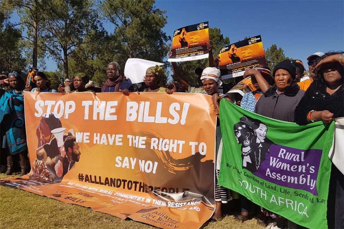 March to Stop Bantustan Bills