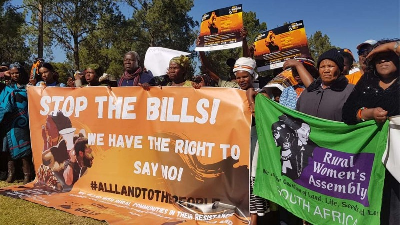 March to Stop Bantustan Bills