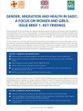 Gender Migration Health SADC 1