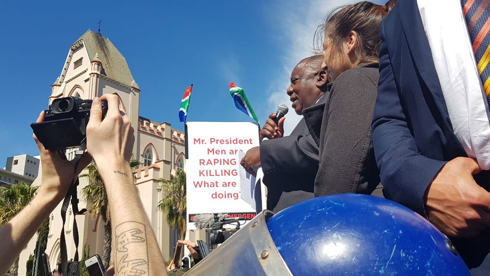 Gbv Protest