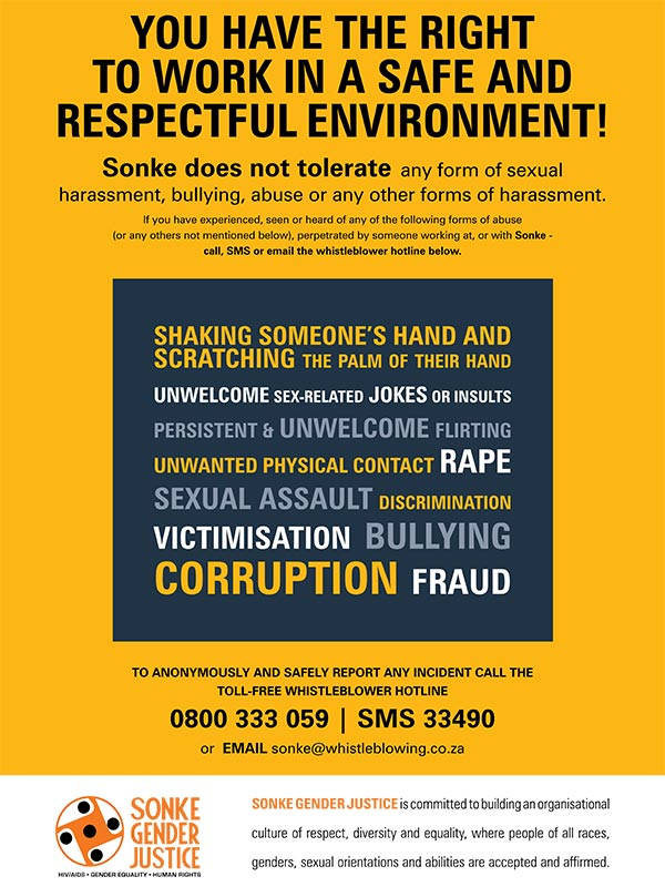 Sonke Poster Report Abuse