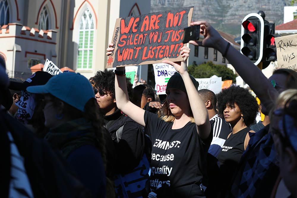 Womxn Protest Against Gbv