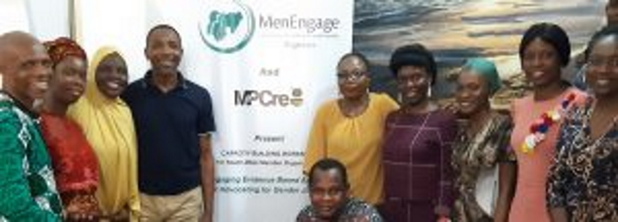 Menengage Nigeria Trains Member Organisations