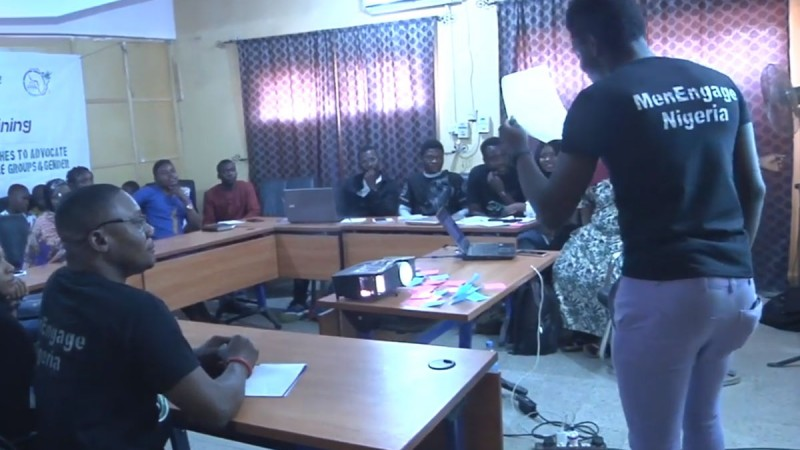 Sensitising Boys Promote Gender Justice Nigeria