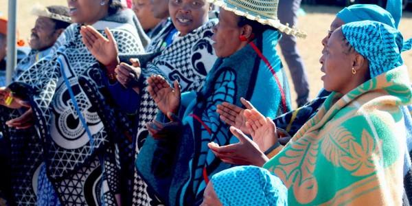 Singing For Mokhibo Lesotho